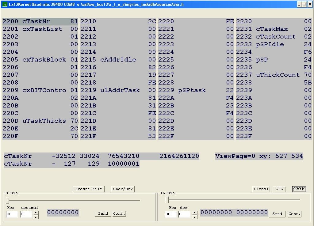 RTOS embedded software